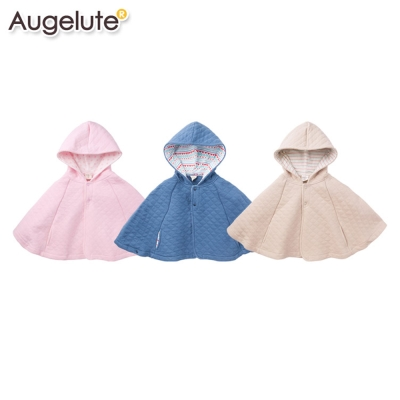 baby童衣 斗篷 保暖厚棉格紋披肩外套47025