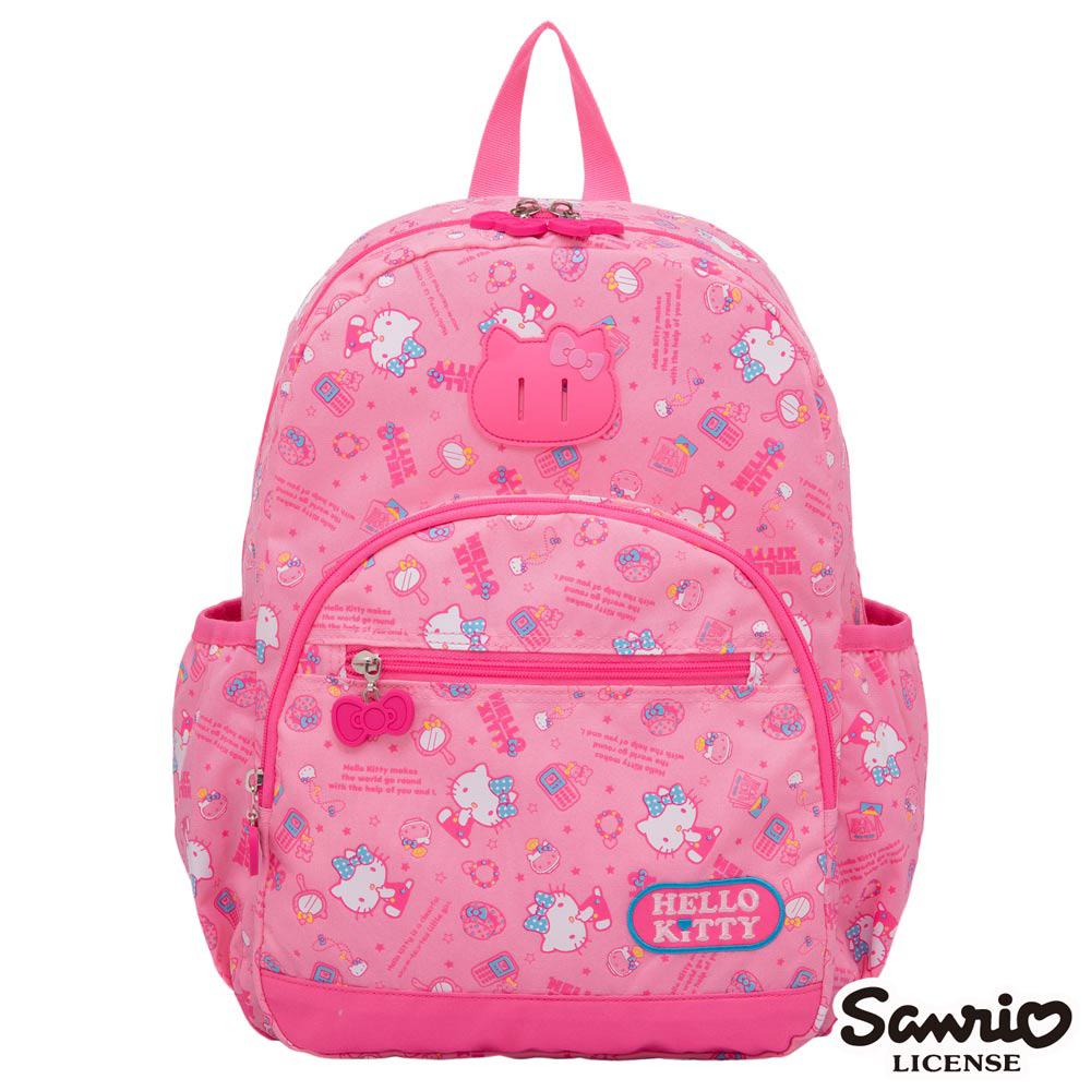 Hello Kitty 休閒潮流Ⅱ大後背包-粉紅KT88B02PK