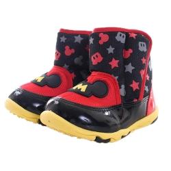 米奇 魔鬼氈輕量短靴 sh0008
