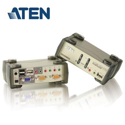 ATEN 2埠 USB KVMP多電腦切換器 旗艦型 (CS1732B)