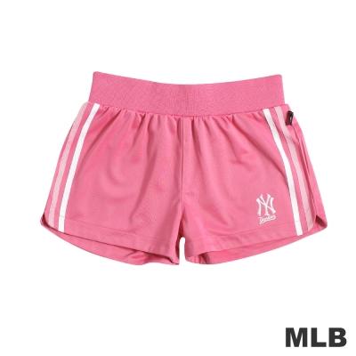 MLB-紐約洋基隊舒適休閒短褲-粉紅(女)