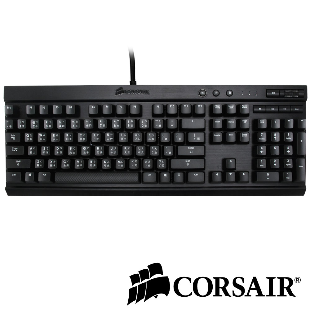 CORSAIR K70 紅軸機械電競鍵盤(中文)