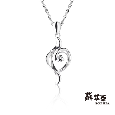 蘇菲亞SOPHIA 鑽石項鍊-memory系列 0.05克拉鑽鍊
