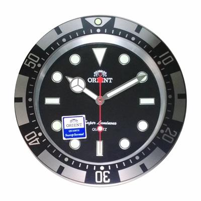 ORIENT 東方 豪式手錶面盤 數字夜光設計  時鐘 掛鐘- 3 . 73 cm