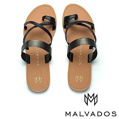 【Malvados 魅凡朵】涼鞋 Icon Joni 瓊妮《黑膠》