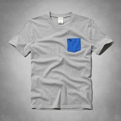 AF a&f Abercrombie & Fitch 小孩 T恤 灰色 0008