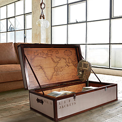 ALMI - TRUNKS-TABLE BASSE個性大咖啡桌(寬120cm)-免裝