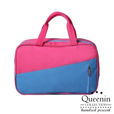 DF Queenin - 韓版乾濕分離手提旅行收納包-共<b>2</b>色