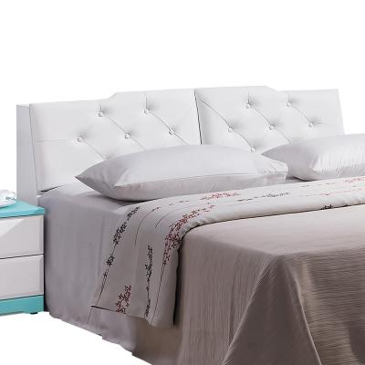 床頭箱-妮芬蒂-6尺加大-純白色-愛比家具