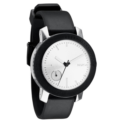 NIXON The RAIDER 個性指標時尚腕錶-黑/ 41 mm