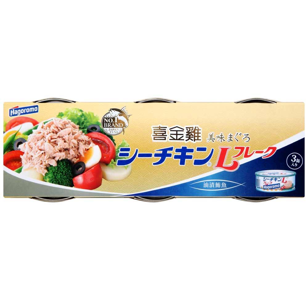Hagoromo 鮪魚罐(70gx3入)