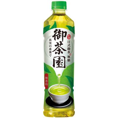 御茶園 特撰日式綠茶-無糖(550mlx24入)