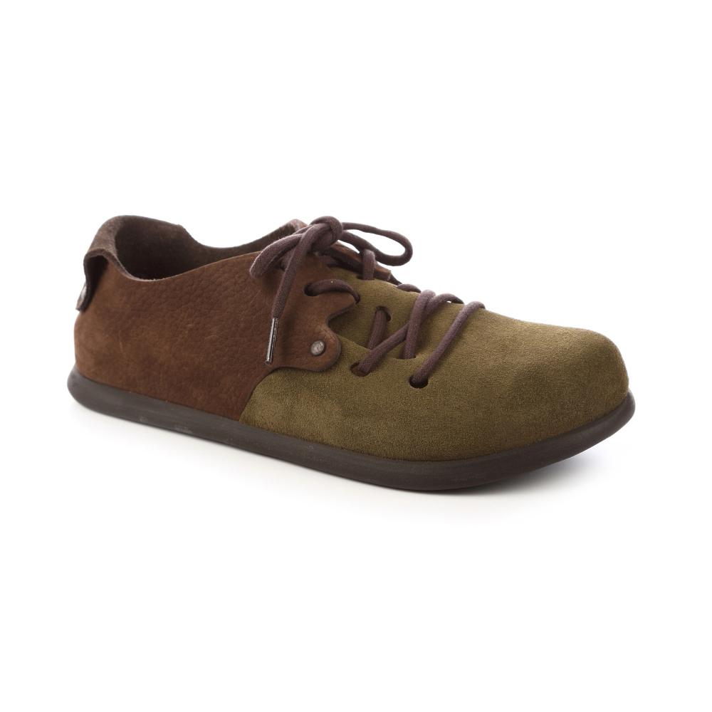 勃肯BIRKENSTOCK 199363。蒙大拿經典包鞋(咖啡棕綠)