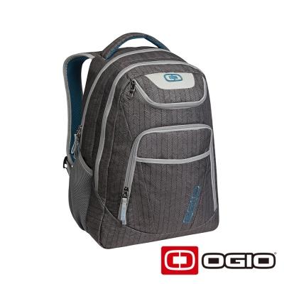 OGIO TRIBUNE 17 吋司令官電腦後背包-葉脈紋灰