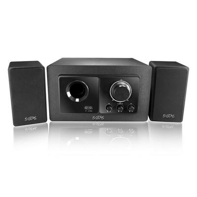 KINYO 2.1聲道高質感重低音木質音箱(KY-7386)