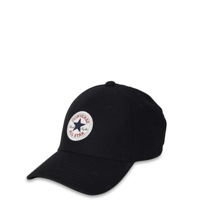 CONVERSE-鴨舌帽10003815A01-黑