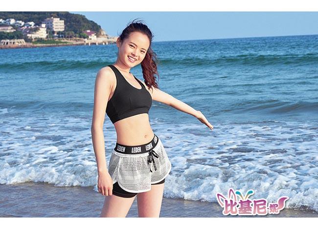Biki比基尼妮泳衣   常華二件式泳衣泳裝比基尼(M-XL)