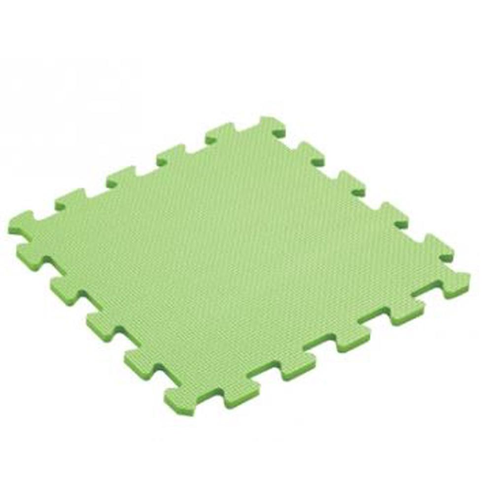 【新生活家】抗菌地墊32x32x1cm30入-陽光綠