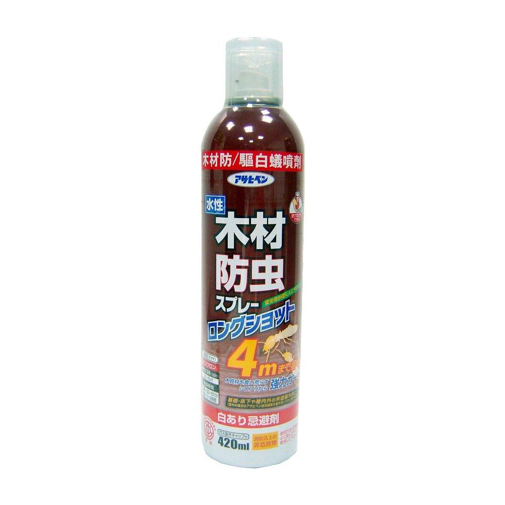 日本Asahipen木材防蟲防(驅)白蟻噴劑-420ML