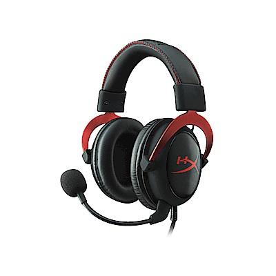 Kingston 金士頓 HyperX Cloud II 電競耳機《黑紅》
