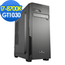 華碩Z370平台[星嵐戰神]i7六核GT1030獨顯SSD電玩機