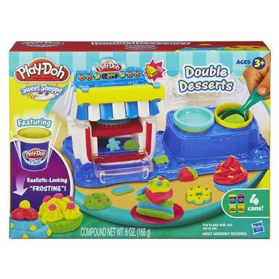 PlayDoh 培樂多 雙重甜點遊戲組