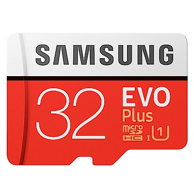 SAMSUNG 三星 32G 95MB EVO Plus microSDHC 記憶卡-平輸