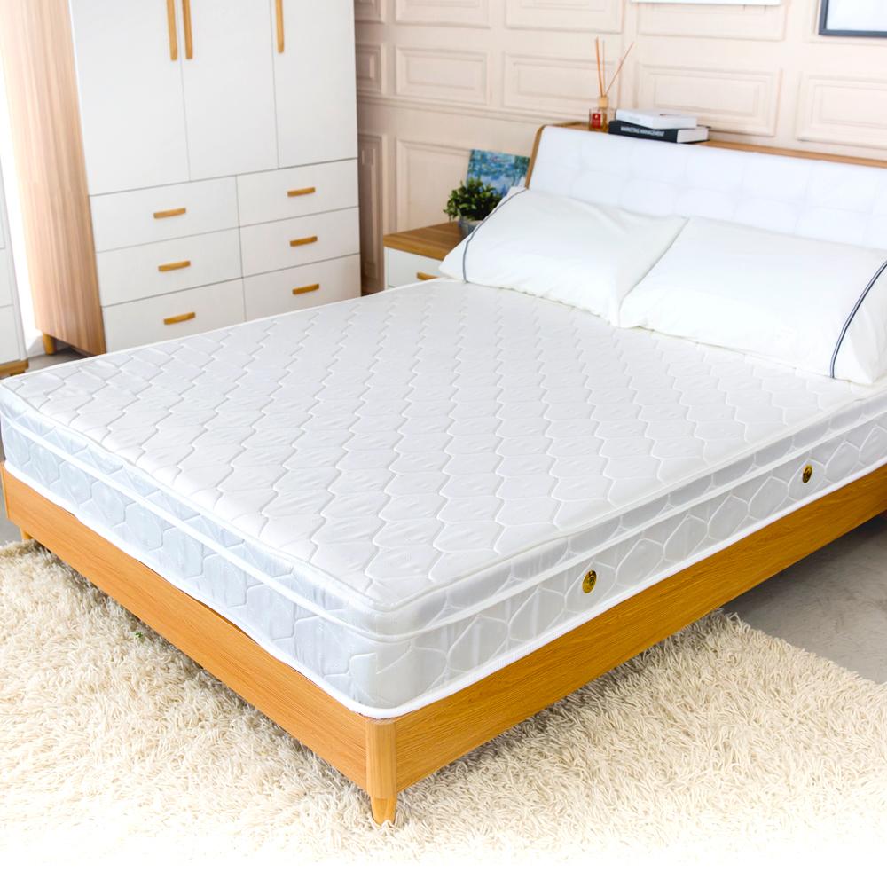 時尚屋 愛黛爾乳膠3.5尺加大單人獨立筒加強彈簧床墊