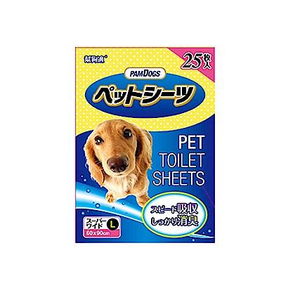 【PamDogs幫狗適】寵物除臭尿布/尿墊25片 L-90X60cm