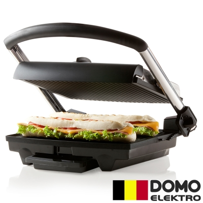 比利時DOMO-Panini可調溫帕尼尼三明治機(DM9140T)