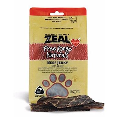 岦歐ZEAL 紐西蘭天然寵物食品《牛肉薄片》125g
