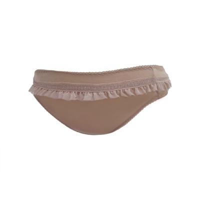 瑪登瑪朵-W美極線-低腰三角棉褲-巧克力