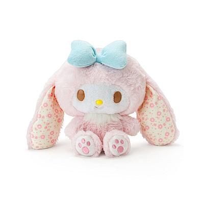 Sanrio 美樂蒂裝扮長耳兔造型超柔舒絨毛娃娃