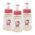 Hello Kitty PES標準奶瓶3支(150ml)
