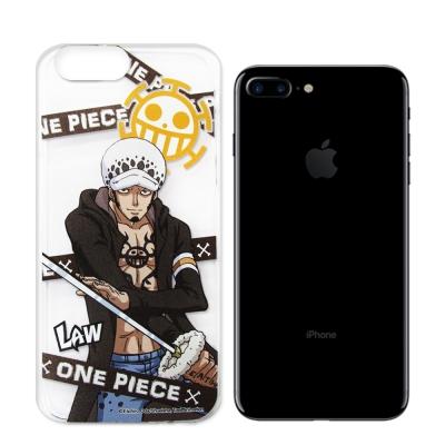 航海王 iPhone 8 Plus/ 7 Plus 透明軟式手機殼(封鎖羅)