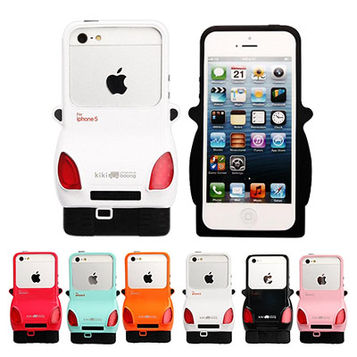 KIKI Boong IPHONE 5/5S/SE 多彩汽車手機殼