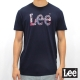 Lee 短袖T恤 哈日風格logo印刷 -男