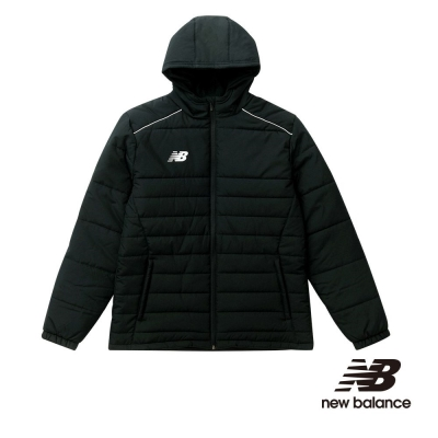 New Balance 舖棉外套 男裝 黑 MJ710128BK