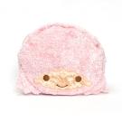 Sanrio 雙星仙子大臉造型絨毛雙面收納包(KIKI&LALA)