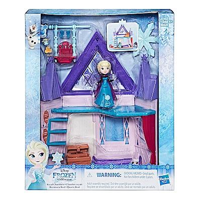 迪士尼公主系列 - 冰雪奇緣迷你公主雙層屋遊戲組