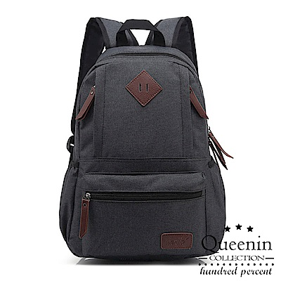 DF Queenin日韓 - 日系人氣空氣感雙肩後背包-共3色