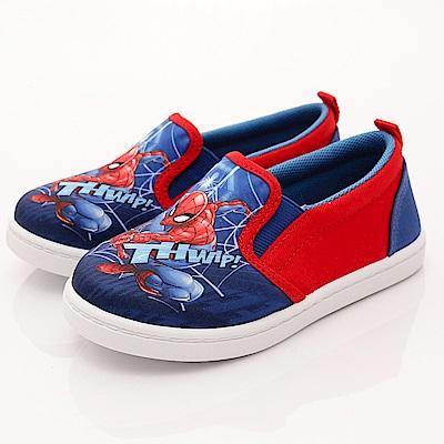 蜘蛛人童鞋 輕量休閒款 PEI9326 藍紅 (中小童段)