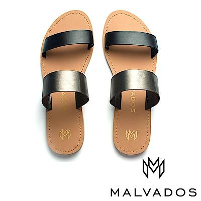 【Malvados 魅凡朵】涼鞋 Icon Azalia 阿薩莉雅《黑膠》