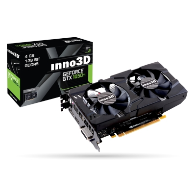 映眾顯示卡Inno3D GeForce GTX 1050TI 4GB GDDR5 Twin