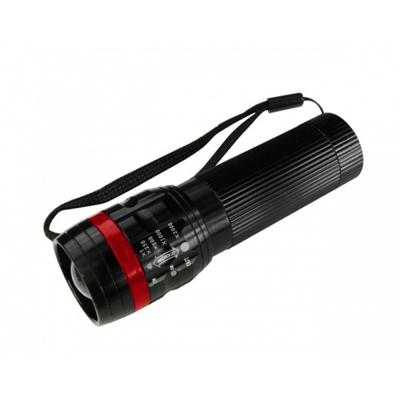 KINYO 100流明超亮晶片伸縮手電筒(LED-608)