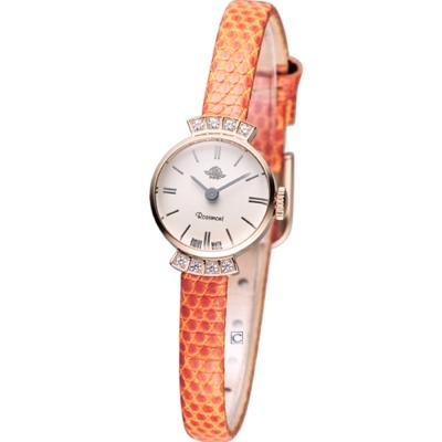 Rosemont 巴黎1925系列 時尚腕錶-橘/17mm