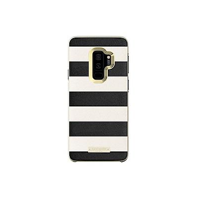 Kate Spade 黑白條紋硬式保護殼-Samsung Galaxy S9 專...