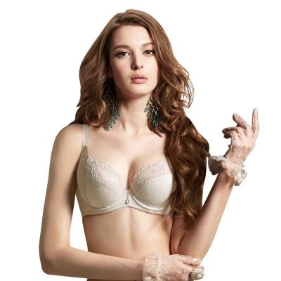 曼黛瑪璉-好峰滿Bra-C-G罩杯成套內衣-可可膚