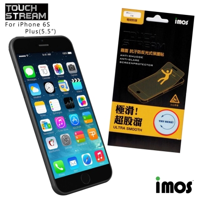 iMos Touch Stream iphone 6 plus / 6s plus霧面保護貼
