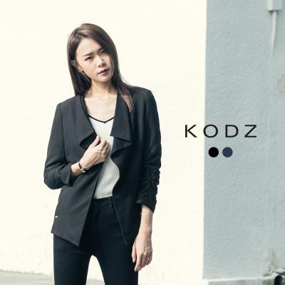 東京著衣-KODZ 質感俐落設計領西裝外套-S.M.L(共二色)